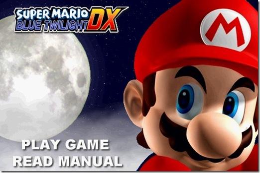 Super Mario Blue Twilight DX free game (14)