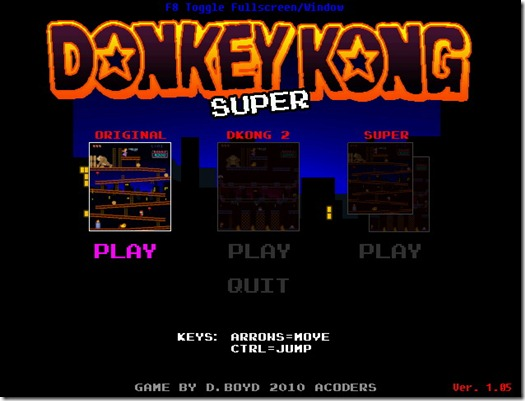 Super Donkey Kong Freeware remake 05