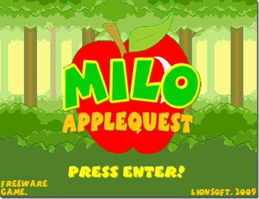 Milo AppleQuest free indie game (5)