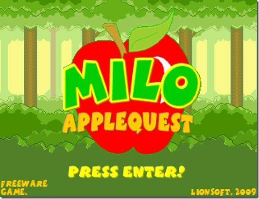 Milo AppleQuest free indie game (5)