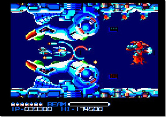 rtype amstrad CPC remake 2011