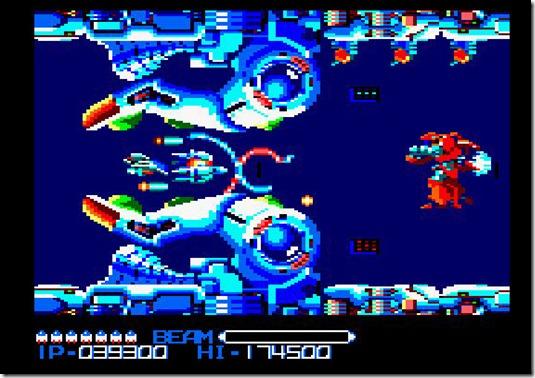 rtype amstrad CPC remake 2011