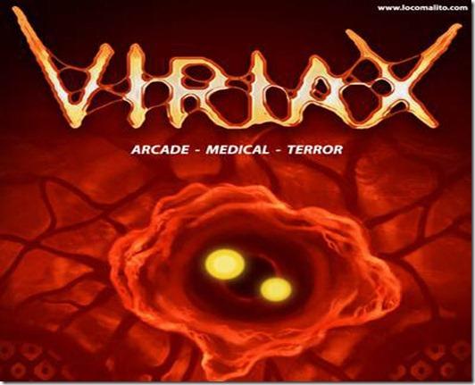 Viriax free indie game title