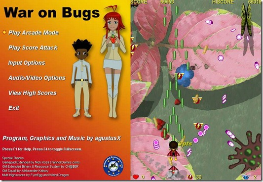 War On Bugs freeware game