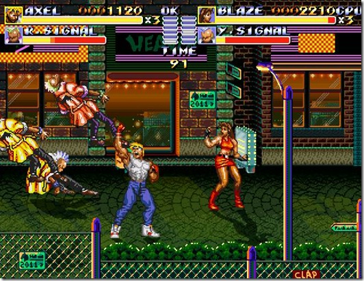 Streets of Rage remake free indie game (4)