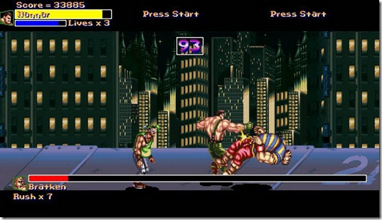 Final Fight Gold 2011 free fan game (5)