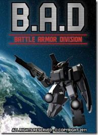 BAD Battle Armor Division - Indie Game (title)