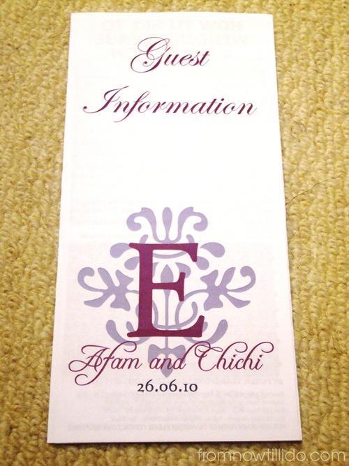 Guest Info 1