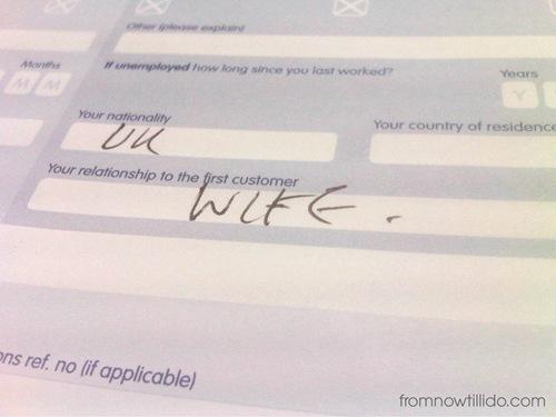 wife bank blog