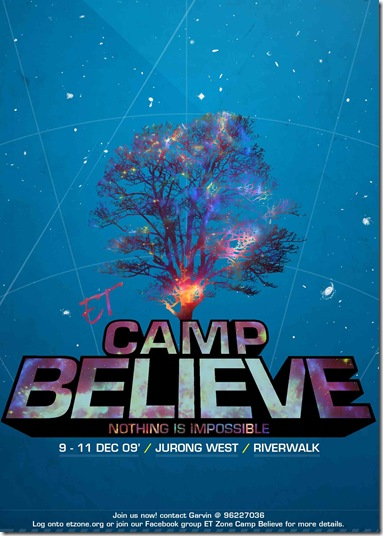 Camp Believe Flyer