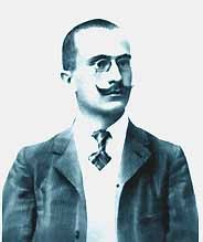 Luigi Einaudi giovane (colore Photoshop)