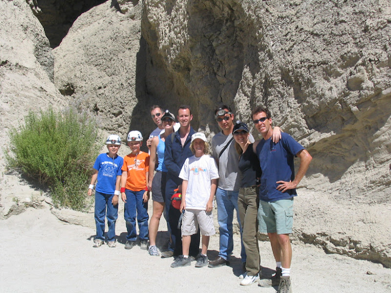 The Mud Cave Crew in Arroyo Tapiado