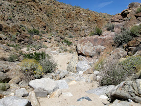 East Fork Carrizo Gorge - Anza Borrego