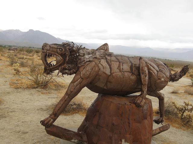 Sabre Tooth Tiger - Anza Borrego Creature Desert