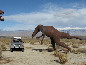 Anza Borrego - Creature Desert in Borrego Springs