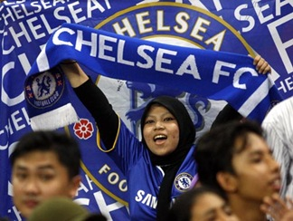 Chelsea plays against  Malaysia
