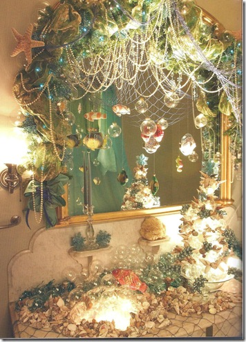 My heart 39 s ease food for thought a fairy tale christmas - Mermaid decor bathroom ...