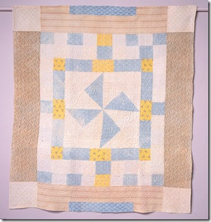 Early Cotton patchwork Merthyr Tydfil C1840