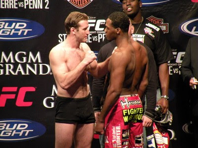 Stephan Bonnar and Jon Jones