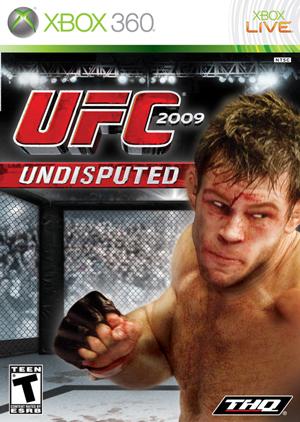 Кадр дня: Форрест Гриффин на обложке UFC 2009 Undisputed