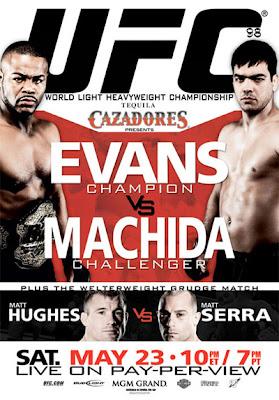 Кадр дня: постер UFC 98