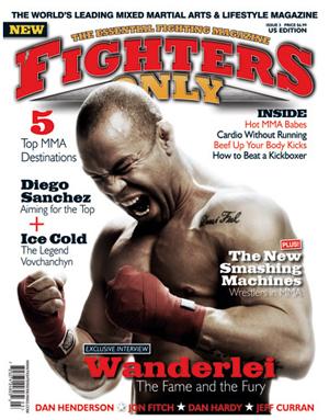 Кадр дня: Вандерлей Сильва на обложке журнала