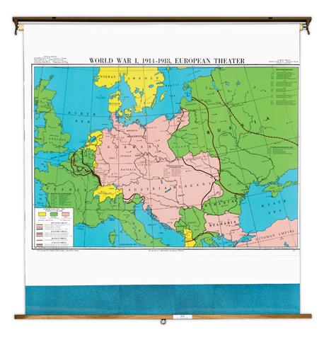 world on theworld war map