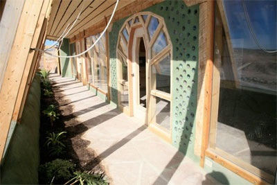 EarthShip greenhouse #2