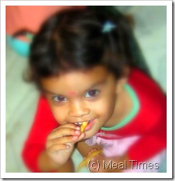 diya eating