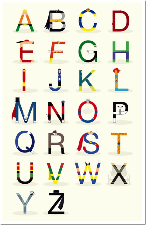 Superhero ABCs