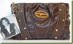 AUTHENTIC BABY PHAT MULTIUSE HANDBAG PURSE BROWN NWT