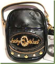 BABY PHAT CELL PHONE CASE, HANDBAG PURSE, BLACK, NWT
