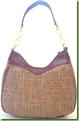 NEW! BABY PHAT HOBO HANDBAG PURSE, BROWN, NWT2