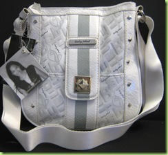 NEW! BABY PHAT CROSS BODY HANDBAG PURSE, WHITE, NWT