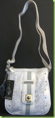 NEW! BABY PHAT CROSS BODY HANDBAG PURSE, WHITE, NWT1