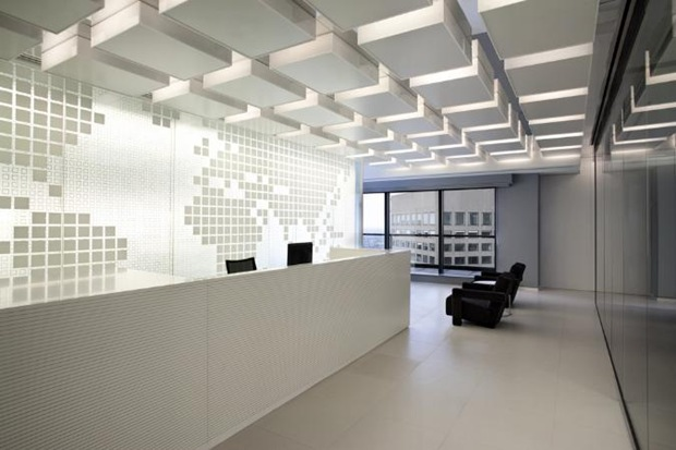 Most exotic styles and trends in commercial and office for Industrial interior design lighting