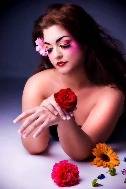 make-up in Fashion photography