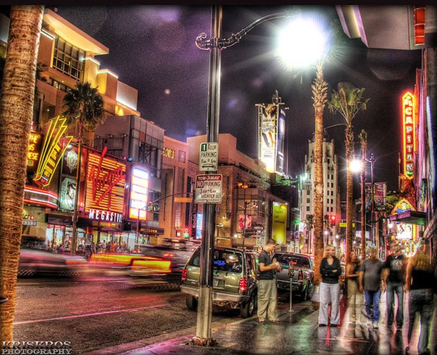 Hollywood-night-photography