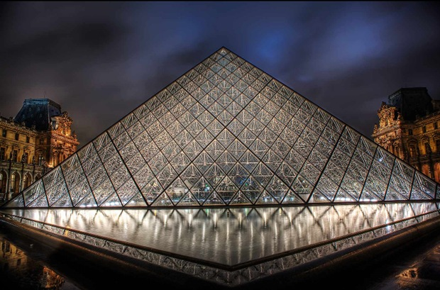HDR Architecture Photography of Paris, France