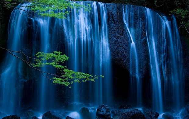 Night Falls - Tatsuzawa Falls