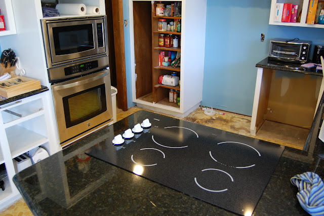 help wiring for new cooktop com community forums whole kitchen showing the cooktop oven and microwave