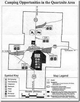 Quartzsite-blm-map