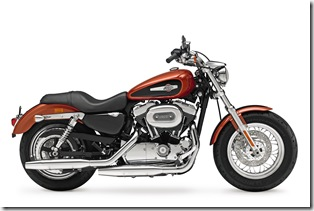 2011, XL1200C, Sportster, Custom, right broadside