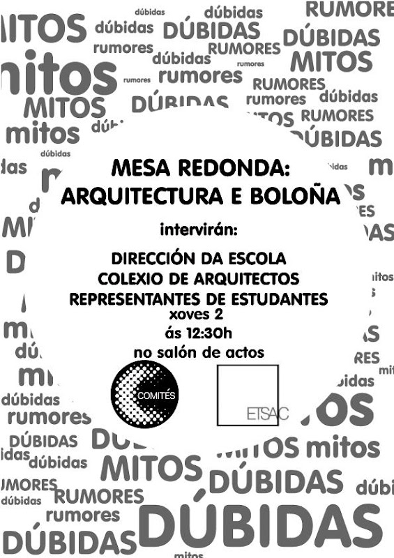 mesa redonda Bolonia
