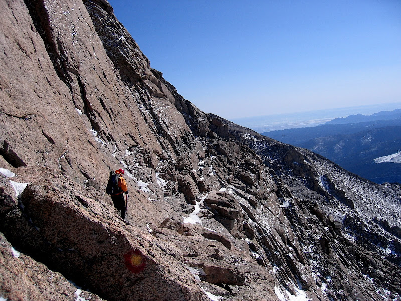 Longs Peak via the Trough in Winter: A Test of Fortitude ...