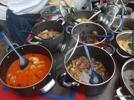 Melaka - Hausmannskost auf malayisch