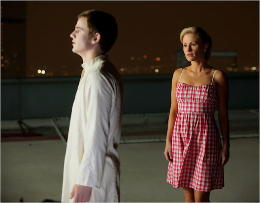 Allan Hyde is Godric and Anna Paquin is Sookie Stackhouse