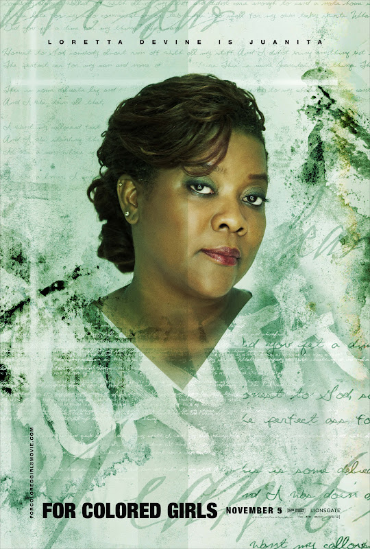 Loretta Devine is Juanita - For Colored Girls