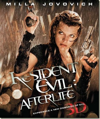 Resident Evil Afterlife poster