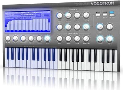 Tonebytes Vocotron vokóder VST plugin